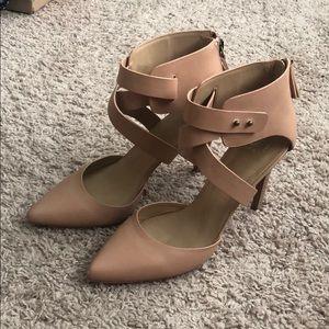 Joe's 8.5 nude heels